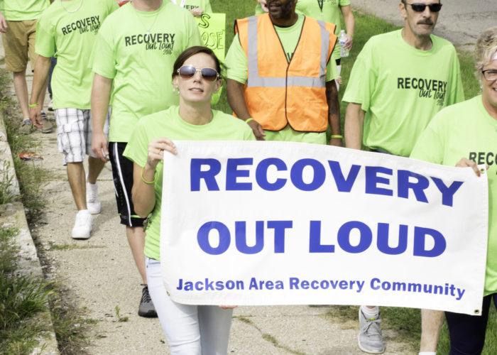 Jackson recovery walk 2016