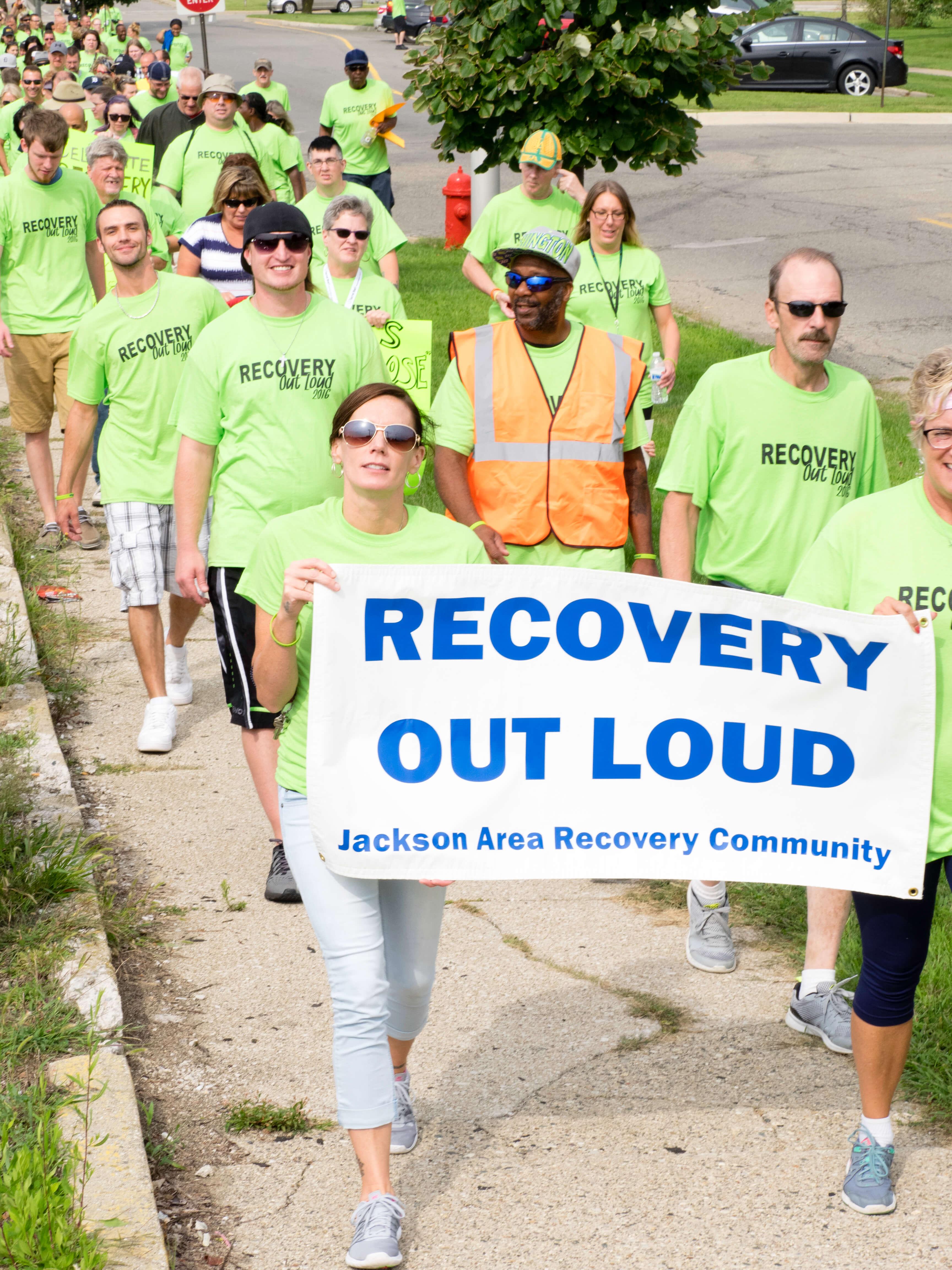 Jackson Recovery walk and Rally