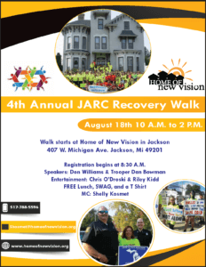JARC 4th Annual Recovery Out Loud Walk