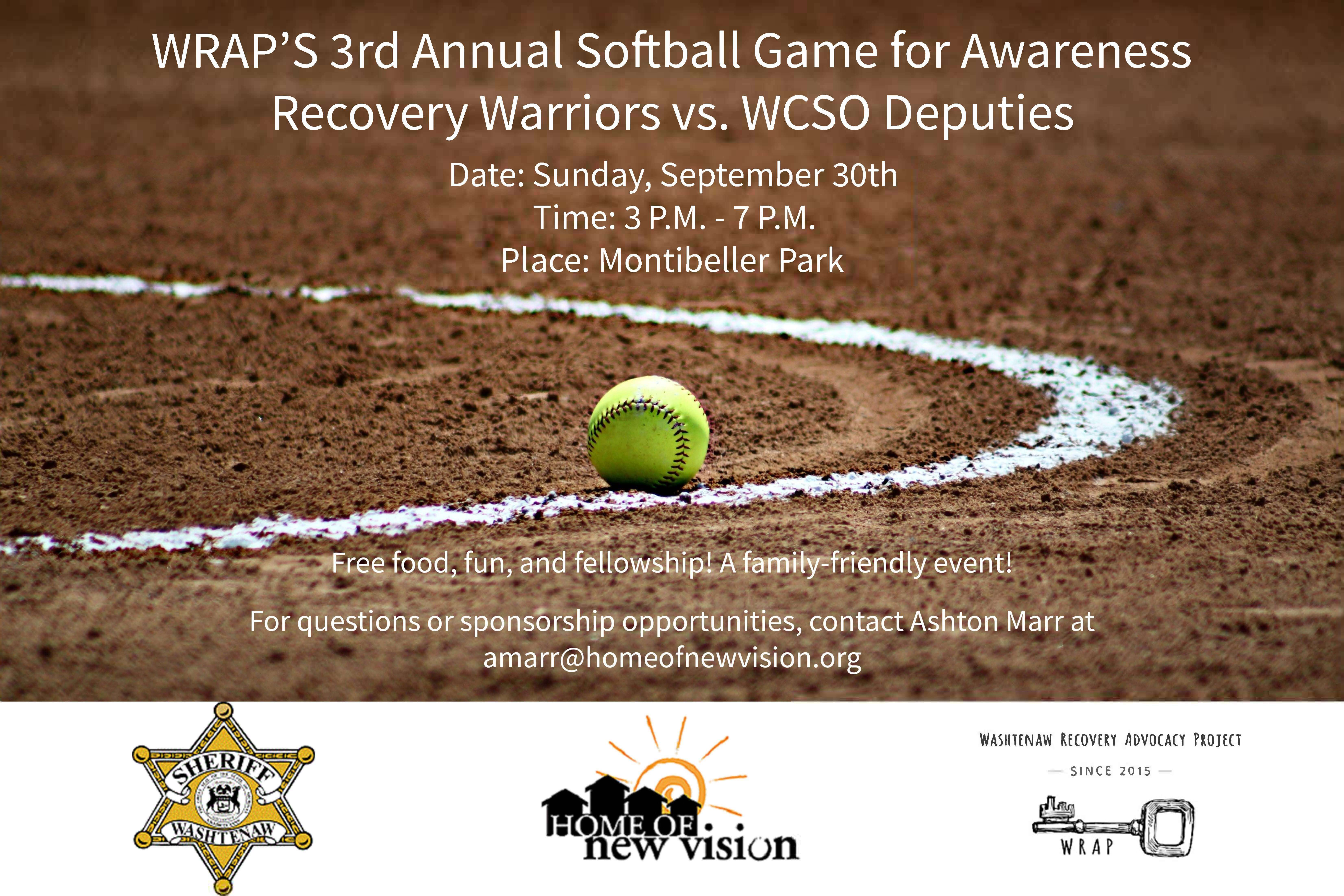 WRAP.Softball.2018.Flyer
