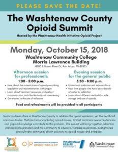 Washtenaw County Opioid Summit