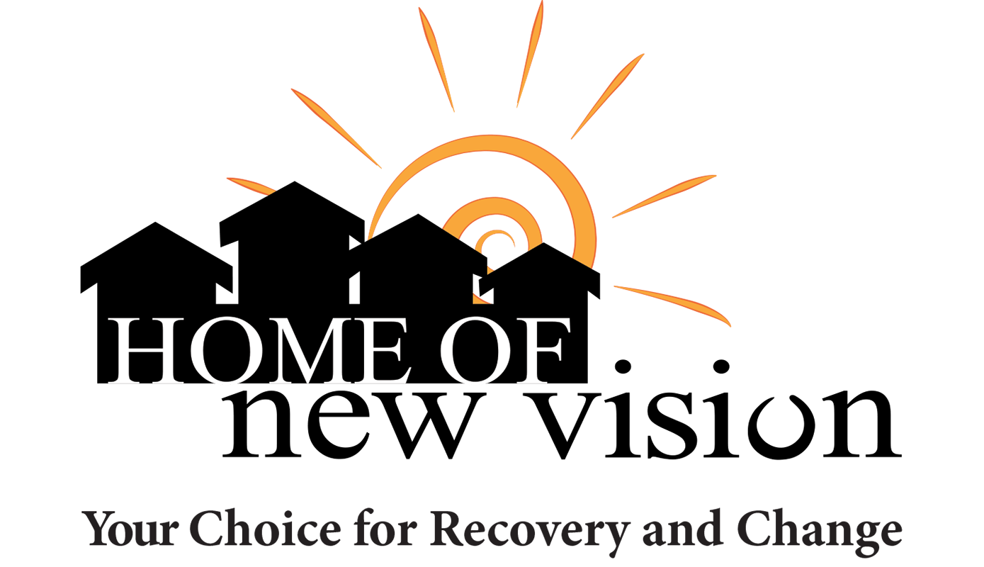 Home of New Vision logo, Your Choice for Recovery and Change