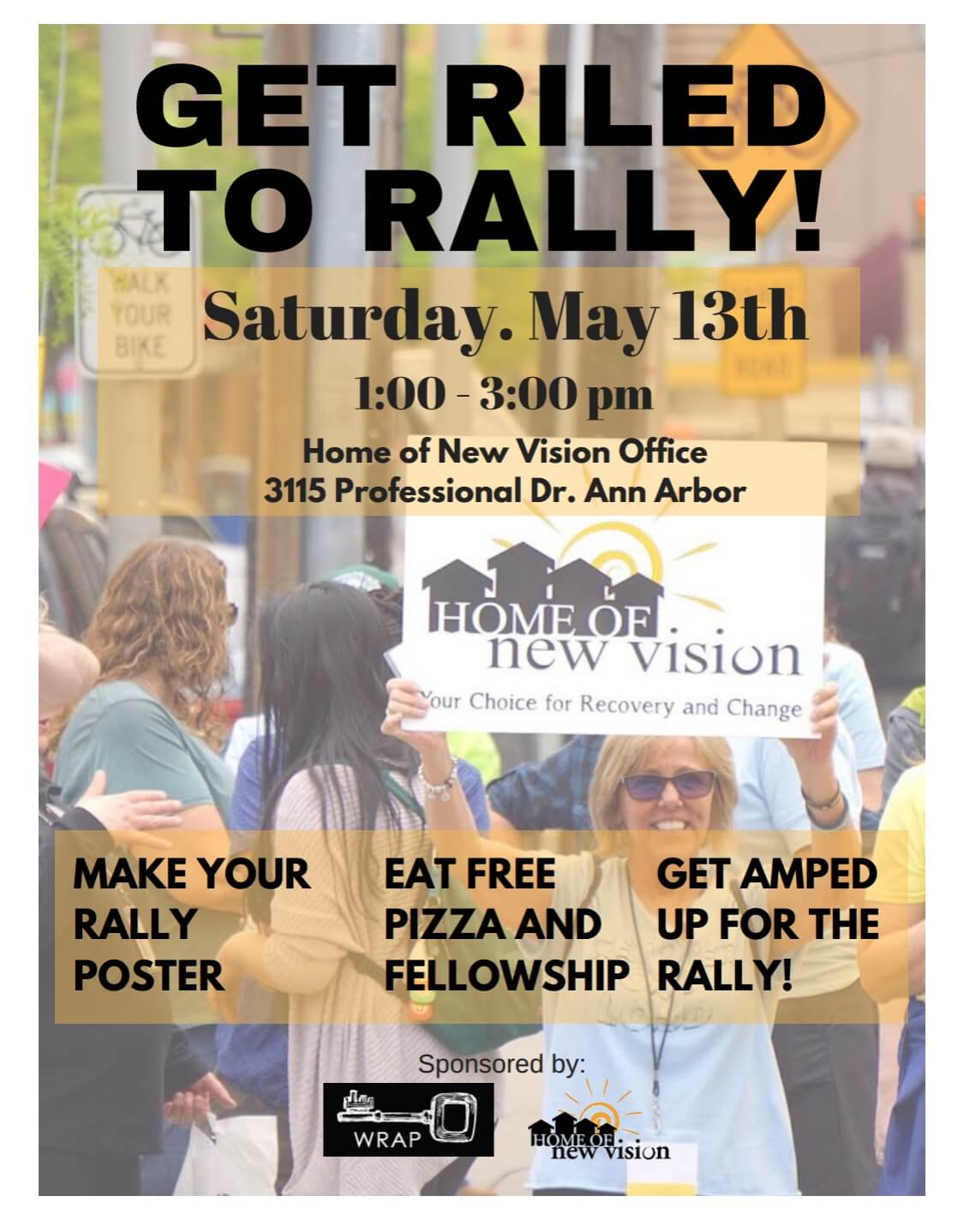 WRAP Pre-rally event may 13 1-3