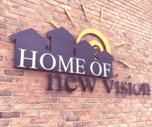 HNV logo on wall