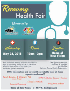 Recovery and Health Fair