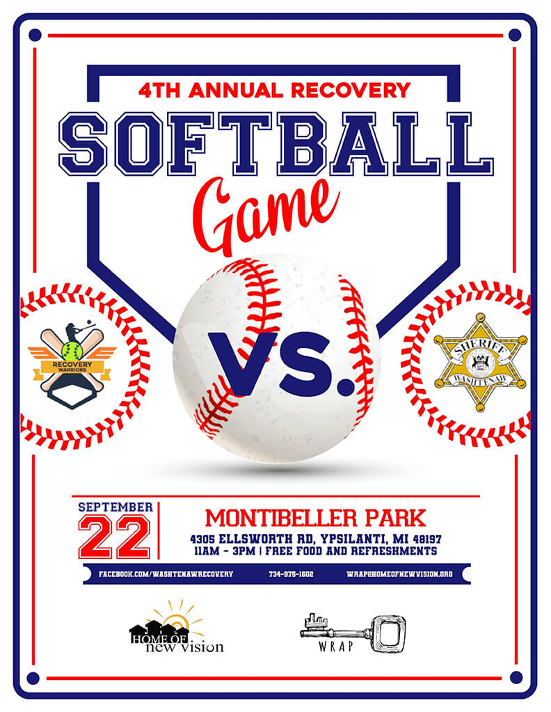 Softball Game Flyer